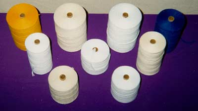 cotton polyester lease strings